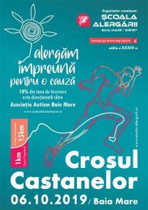 Școala Alergării - Afiș Crosul Castanelor ed. a 34-a