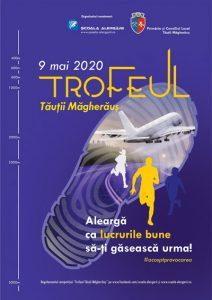 Școala Alergării -Afiș Trofeul Tăuții Măgheruș - 9 Mai 2020